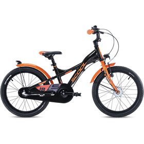 s'cool XXlite alloy street 18 3-S Kids black/orange